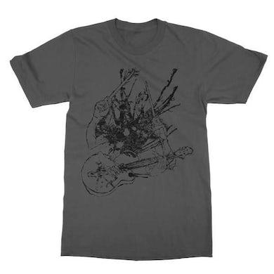 Two Gallants   Guitar & Drum T-Shirt - Asphalt