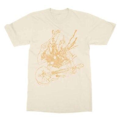 Two Gallants   Guitar & Drum T-Shirt - Natural