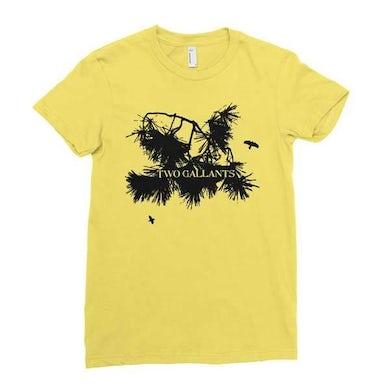 Two Gallants   Branch T-Shirt - Cream