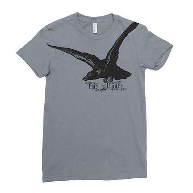 Two Gallants   Women's Raven T-Shirt - Asphalt