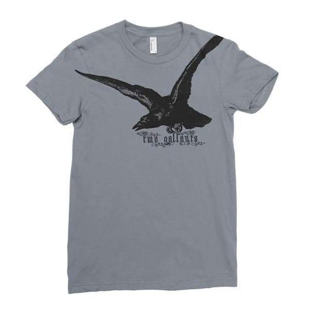 Two Gallants | Women's Raven T-Shirt - Asphalt