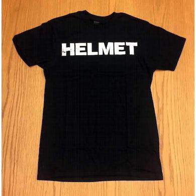 Helmet | Distressed Helmet Logo T-Shirt