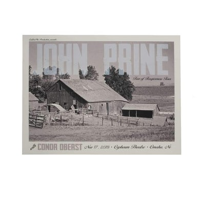 Conor Oberst | 18X24 Conor Oberst & John Prine at The Orpheum Theater Poster