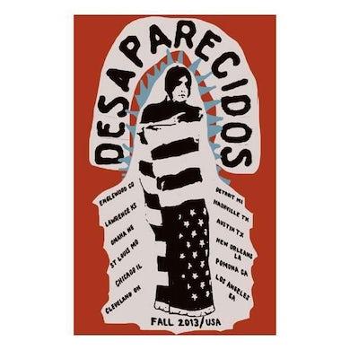 Desaparecidos | 19X11.5 Flag Tour Poster