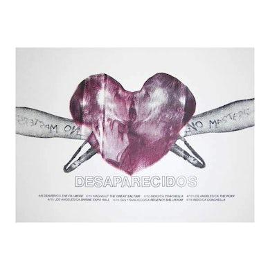 Desaparecidos | 18X24 Heart 2015 Tour Poster