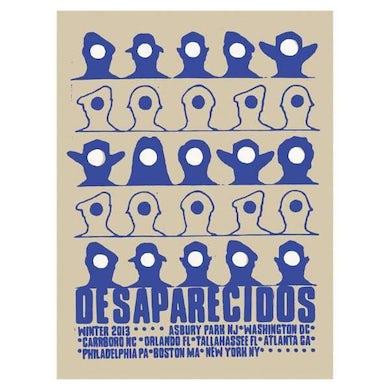 Desaparecidos | 18X24 Winter 2013 Tour Poster