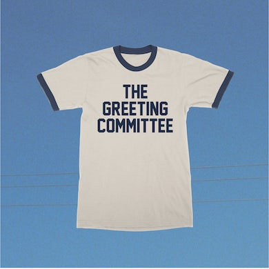 The Greeting Committee    Natural Ringer T-Shirt
