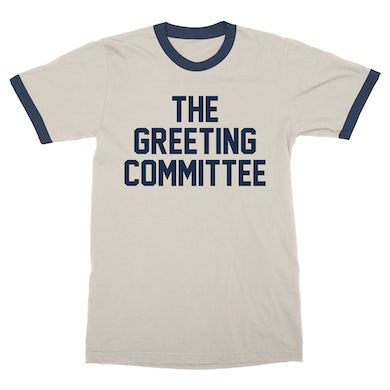 The Greeting Committee    Natural Ringer T-Shirt *PREORDER*