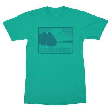 Slenderbodies | Owl T-Shirt - Turquoise