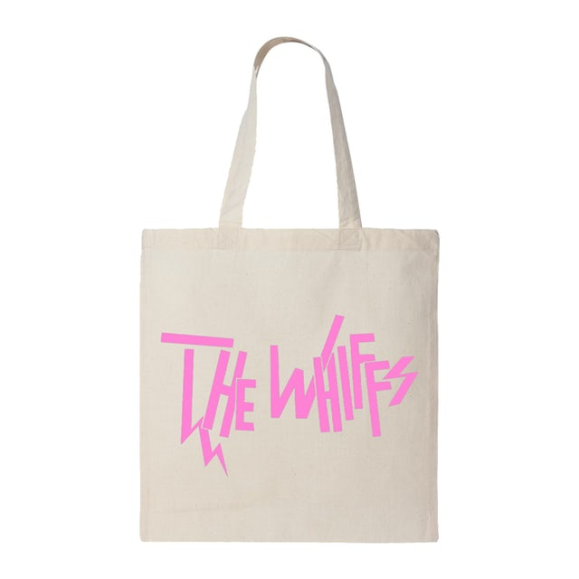 The Whiffs | Natural Logo Tote