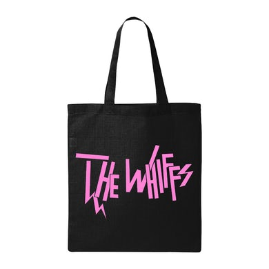 The Whiffs | Black Logo Tote