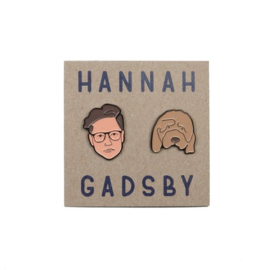 Hannah Gadsby | Face Enamel Pins