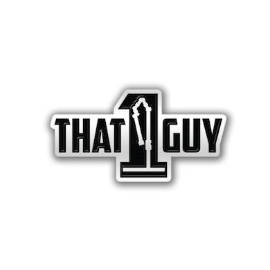 That 1 Guy   Logo  Pin