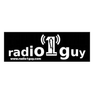 Radio 1 Guy Sticker