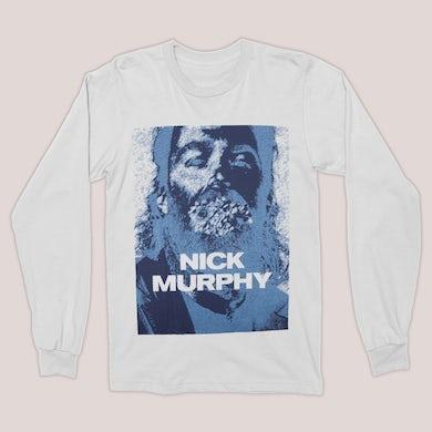 Nick Murphy | Blue Face Longsleeve Shirt