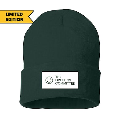 The Greeting Committee   Forest Green Beanie