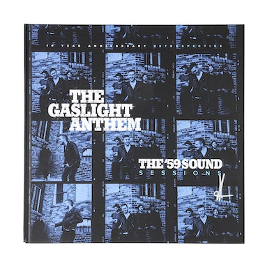 The Gaslight Anthem | The '59 Sessions - *Signed* Deluxe Photo Book + LP (Vinyl)