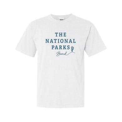 The National Parks | Logo White T-Shirt