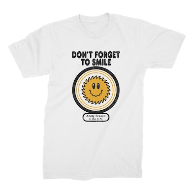 Andy Frasco & The U.N. Andy Frasco | Don't Forget To Smile T-Shirt