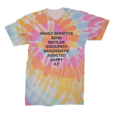 Andy Frasco & The U.N. Andy Frasco | Tie Dye T-Shirt
