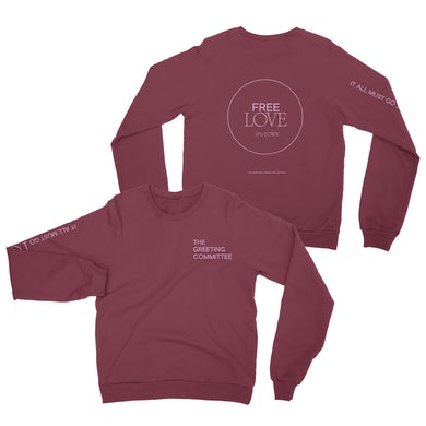 It All Must Go Hoodie - Maroon *PREORDER*