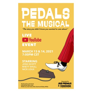 JHS Pedals | Pedals: The Musical Poster