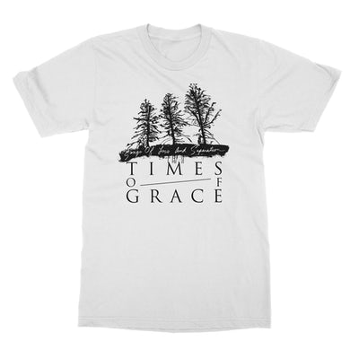 Times Of Grace | Tree Line Text T-Shirt