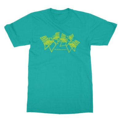 The Brother Brothers | Chairs T-Shirt - Tahiti Blue