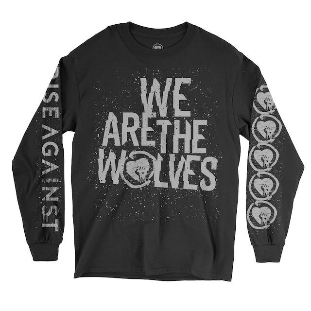 Rise Against We Are the Wolves Long Sleeve Tee (Black)