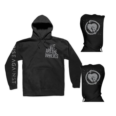 Rise Against We are the Wolves Pullover Hoodie (Black)