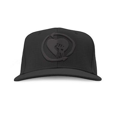 Rise Against Blackout Logo Snapback