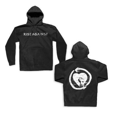 Rise Against Static Logo Heartfist Pullover (Black)
