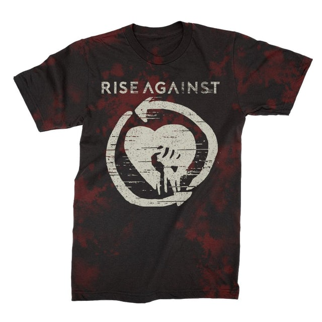 Rise Against HeartFist Tie Dye Tee (Bloodlet)
