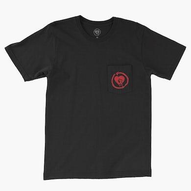 Rise Against HeartFist Circuit Pocket Tee (Black)