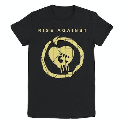 Rise Against TGNS HeartFist Women's Tee (Black)