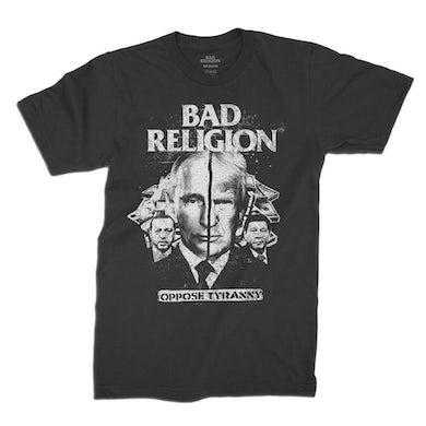 Bad Religion Oppose Tyranny Tee (Black)