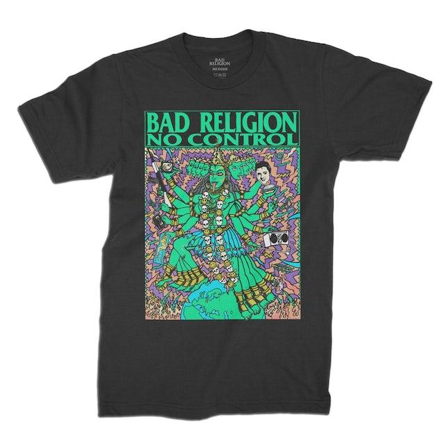 Bad Religion No Control Kozik Tee (Black)