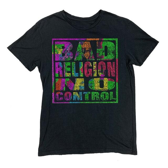Bad Religion No Control Vintage Tee (Black)