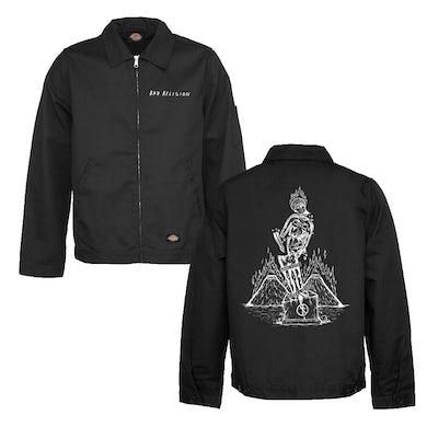 Bad Religion Statue Eisenhower Jacket (Black)