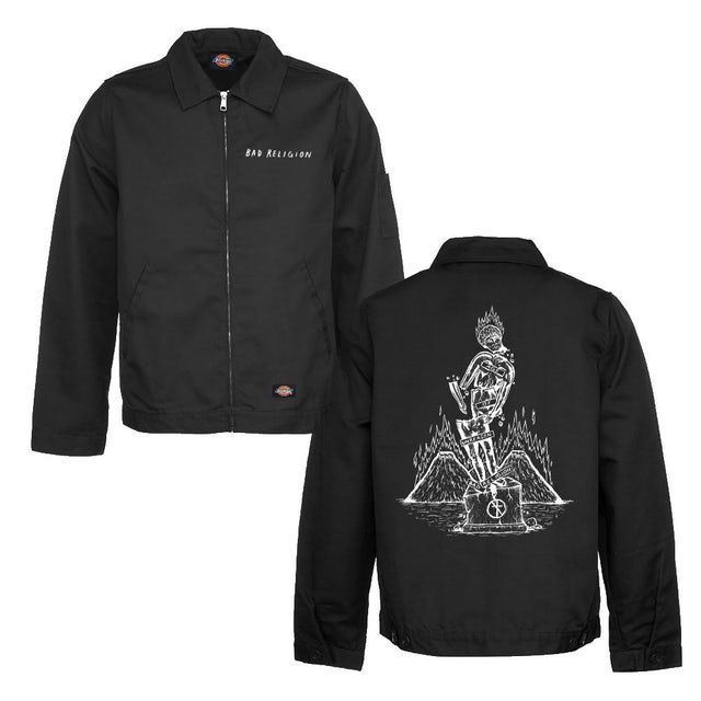 Bad Religion Statue Eisenhower Jacket (Black)