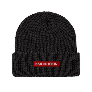Bad Religion Classic Logo Beanie (Black)