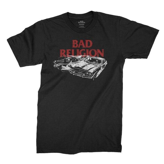 Bad Religion Crash Tee (Black)