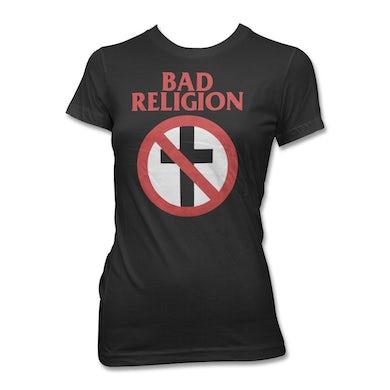 Bad Religion Women's Crossbuster Tee (Black)