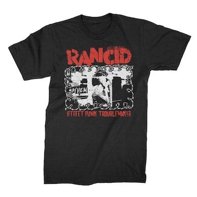 Rancid Street Punk Troublemaker T-Shirt (Black)