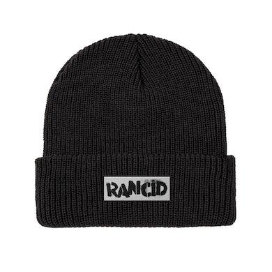 Rancid Stencil Logo Beanie (Black)