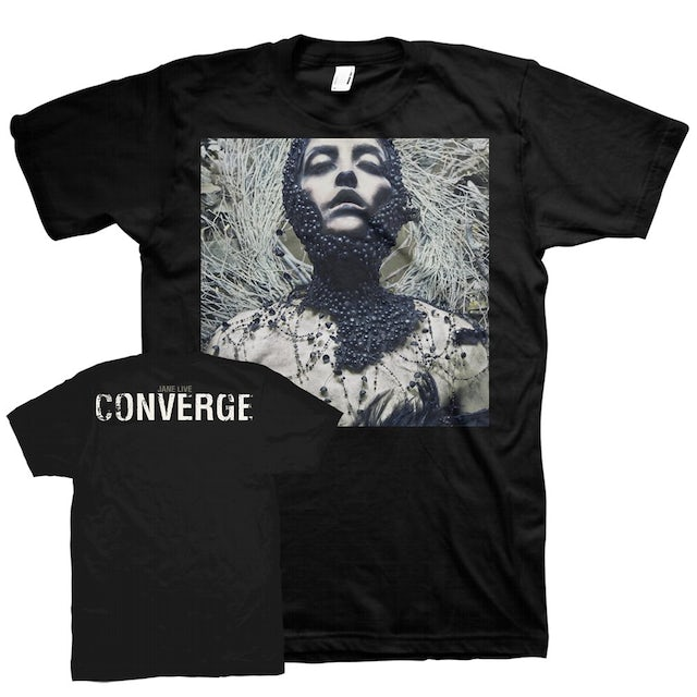 Converge Jane Live Ashley Rose Couture Cover Tee (Black)