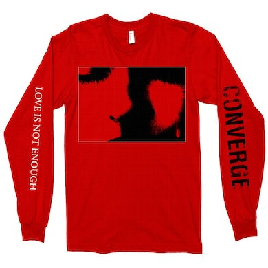 Converge Love Is Not Enough Long Sleeve (Red)