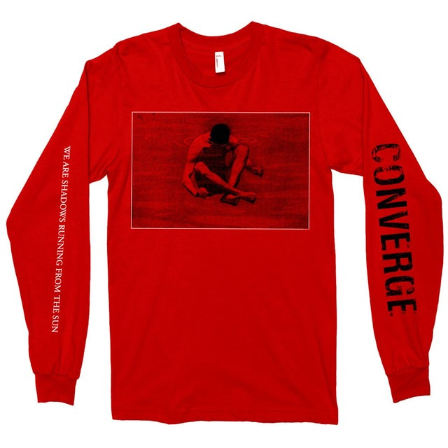Converge We Are Shadows Longsleeve (Red)
