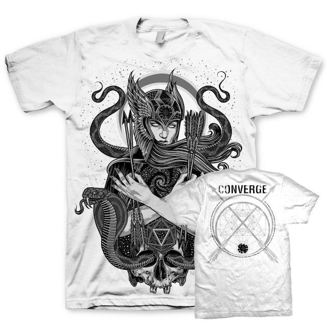 Converge Palehorse Sorcery Tour T-Shirt (White)