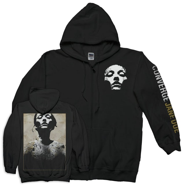 Converge Jane Doe Classic Zip-Up Hoodie (Black)